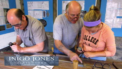 Offer image for: Inigo Jones Slateworks - 10% discount on guided tours and shop purchases over £10.00.