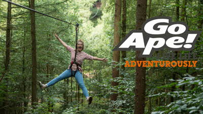 Offer image for: Go Ape - Peebles - 10% discount - Pre-booking required.