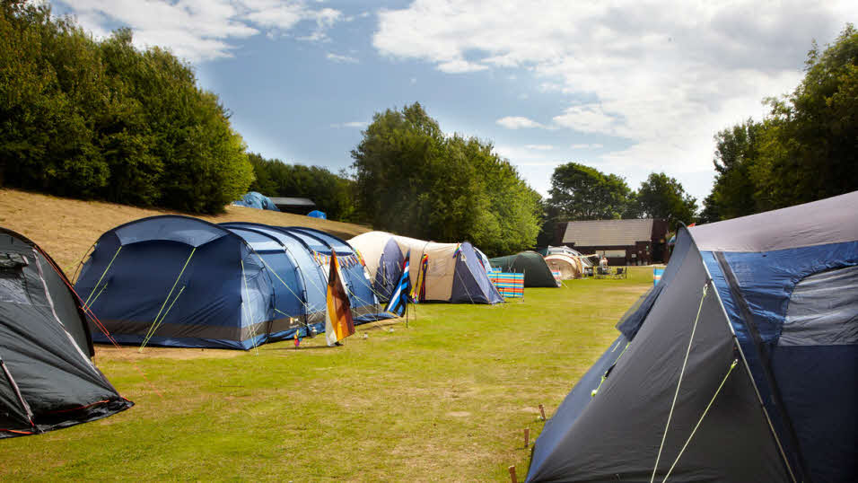 Enjoy spacious tent pitches on this immaculate site within easy reach of the sea & Tent camping sites | The Caravan Club