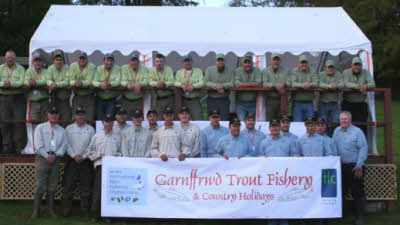 Garnffrwd Trout Fishery, SA15 5BB, Cross Hands, Carmarthenshire, Wales