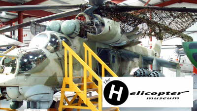 Offer image for: The Helicopter Museum - One free child when accompanied by two full paying adults or £1 off per adult