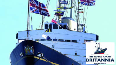 Offer image for: The Royal Yacht Britannia - 10% off admissions for up to five people - Pre-booking required.