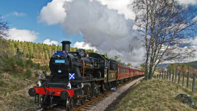Offer image for: The Strathspey Railway - 10% discount on full line return travel.
