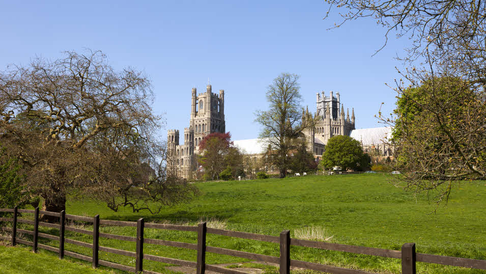 Cambridgeshire's Ely Cathedral