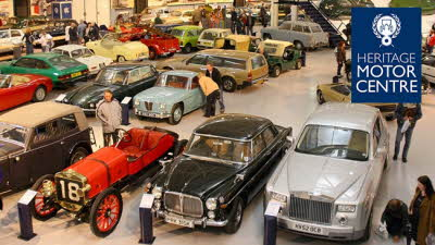 Offer image for: British Motor Museum - £2.00 off per person for up to five people.