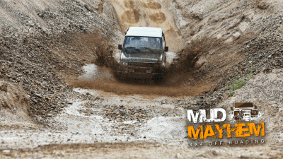 Offer image for: Mud Mayhem . Ferryhill, County Durham - 10% off for Members of the Caravan and Motorhome Club.