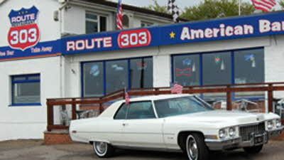 Offer image for: Route 303 - 10% off food only.