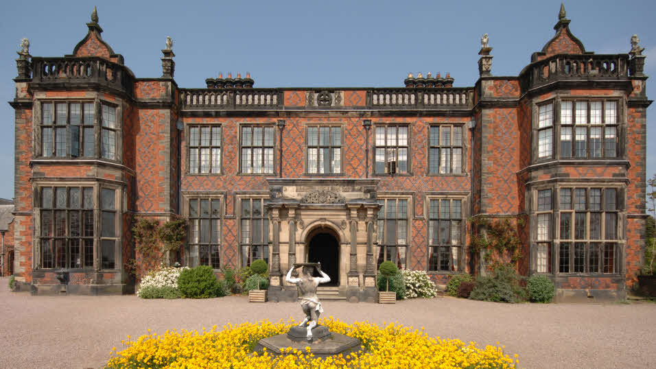 Arley Hall and Gardens in Cheshire