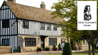 Offer image for: Oliver Cromwell's House - Two for the price of one.