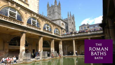 Offer image for: The Roman Baths - Two for the price of one on adult tickets.