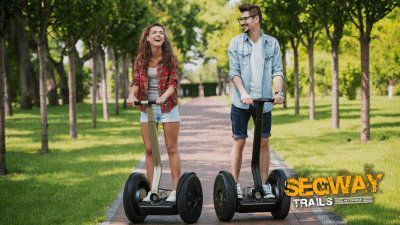 Offer image for: Segway Trails . Exeter, Devon - 10% off for Members of the Caravan and Motorhome Club.