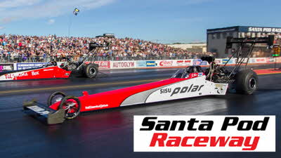 Offer image for: Santa Pod Raceway - 20% discount on selected events - Pre-booking required.