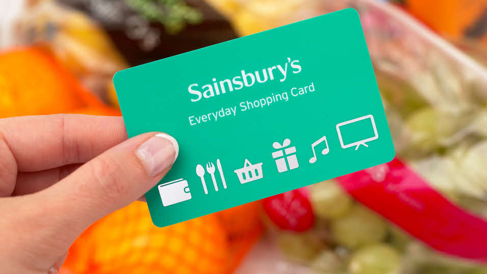 Sainsbury's Everyday Shopping Card and groceries