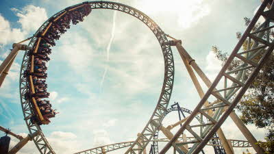 Offer image for: Thorpe Park - Up to 44% discount - Pre-booking required