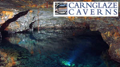 Offer image for: Carnglaze Caverns - Two for the price of one.