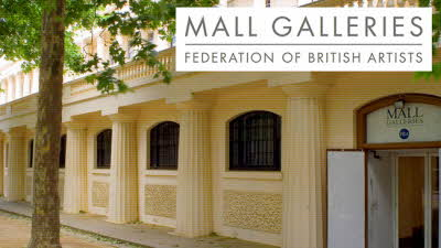 Offer image for: Mall Galleries - Free entry for two on all FBA Society Exhibitions (normal price £8.00).