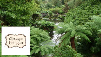 Offer image for: The Lost Gardens of Heligan - Two for the price of one.