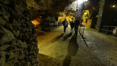 Offer image for: Clearwell Caves - Ancient Iron Mines - One free child when accompanied by two full paying adults/children.
