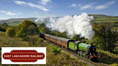Offer image for: East Lancashire Railway - Two for the price of one with a 'Freedom of the Line' ticket.