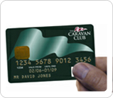 Caravan Cub credit card and Site Nights