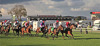 Stay on a racecourse site