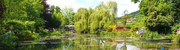 Giverny gardens, Normandy, France.