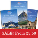 Sale on now! Touring Europe Guides 2015