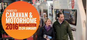 Caravan and Motorhome Show, EventCity, Manchester