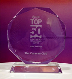 The Club's customer service wins top award