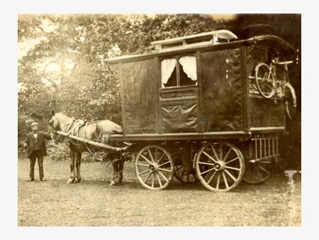 Luxury Horsedrawn Caravan