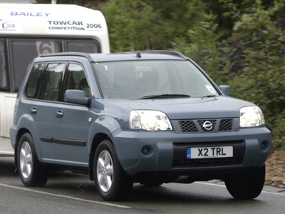 nissan x trail 4x2 2 2 dci advice training the caravan club. Black Bedroom Furniture Sets. Home Design Ideas