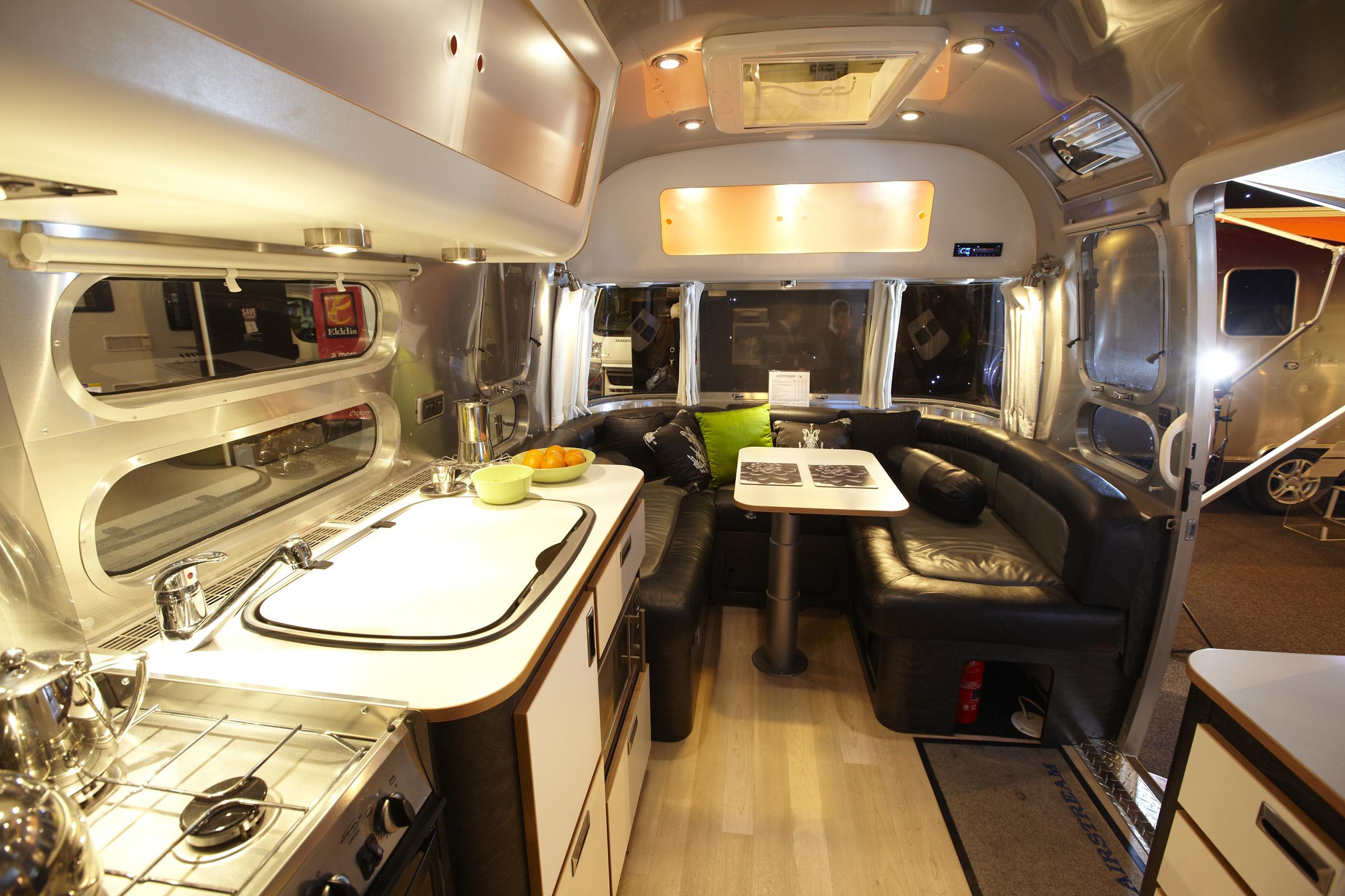 Airstream Trailers Interior Design Images