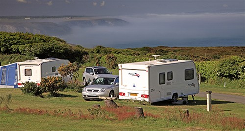 St Agnes Beacon Caravan Club Site