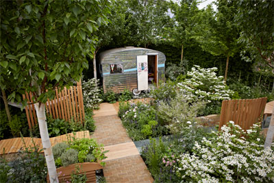 The caravan club s award winning garden membership for Award winning backyard designs